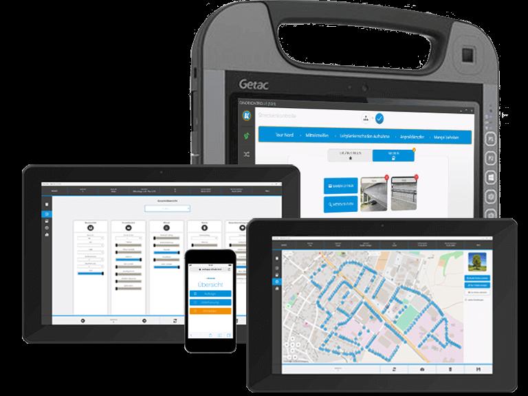 Mobile Datenerfassung mit DINOB