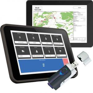 GPS-Datenerfassung mit dem Telematik-Tracking-Modul