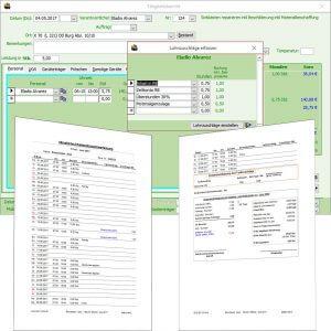 Lohndatenaufbereitung
